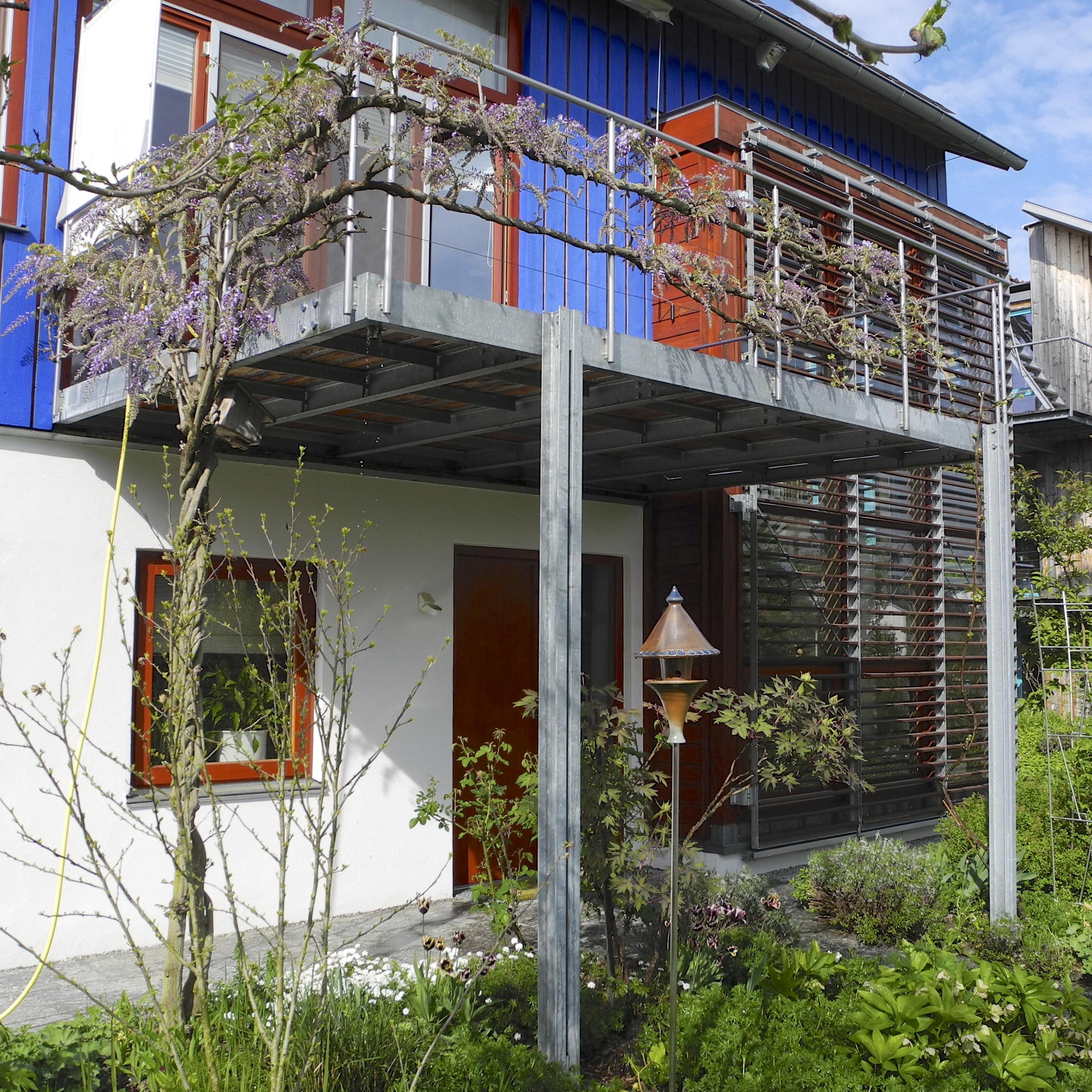 Turbo Balkon und Glasdach - Metallatelier GmbH UZ91